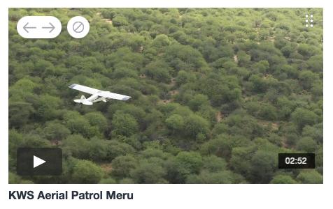 Aerial Patrol Meru National Park